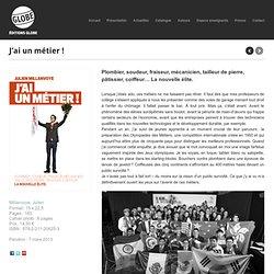 """""""J'ai un métier !"""" Editions Globe"""