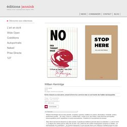 Editions jannink : NEWS