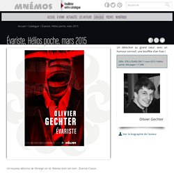 Les éditions Mnémos - Évariste, Hélios poche, mars 2015