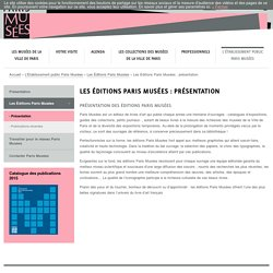 Les Éditions Paris Musées