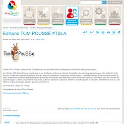Editions TOM POUSSE #TSLA
