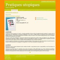 Editions REPAS - Refaire le monde… du travail - Sandrino Graceffa