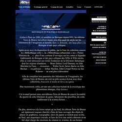 Editions Terre de Brume - Qui sommes nous ?
