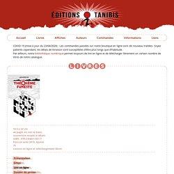 Éditions Tanibis - Le théorème funeste, par Alexandre Kha