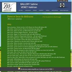 BV éditions - Ballery Sabine - Venet Valérian