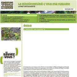 Fondation Nicolas Hulot : la biodiversité