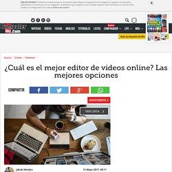¿Cuál es el mejor editor de videos online? Las mejores opciones