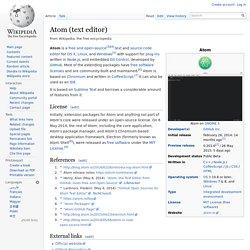 Atom (text editor)