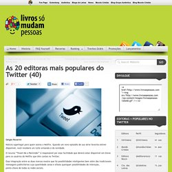 As 20 editoras mais populares do Twitter (40)