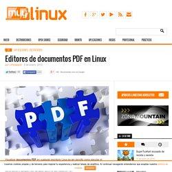 Editores de documentos PDF en Linux