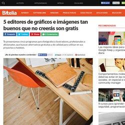 5 editores de gráficos e imágenes gratuitos y de calidad