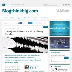 Editores de audio online: los cuatro mejores
