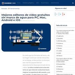 +20 Editores De Vídeo Sin Marca Agua GRATIS (Act. 2020)