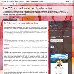 Las TIC y su utilización en la educación : 14 Editores de vídeos animados en línea