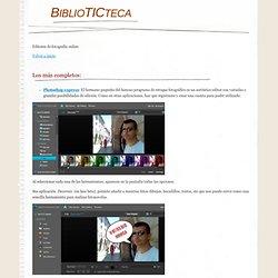 editoresonline - BiblioTICteca