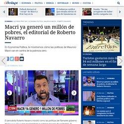 Alfonso Prat Gay, Economía Política, Mauricio Macri, Roberto Navarro