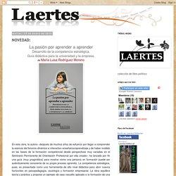 Editorial Laertes: NOVEDAD: