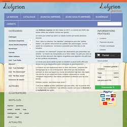 Ligne Editoriale - Editions LELYRION