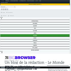 BFM-TV, ses éditorialistes et l'attitude «irrespectueuse» de Philippe Poutou