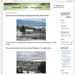 Open house for Bellingham Housing Authority's green retrofit