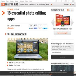 The 18 best photo editors