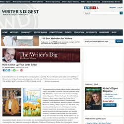 How to Shut Up Your Inner EditorWritersDigest.com