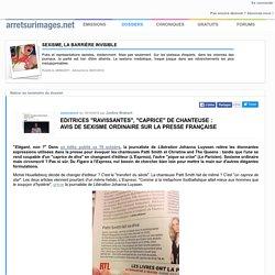 """Editrices """"ravissantes"""", """"caprice"""" de chanteuse : avis de sexisme ordinaire sur la presse française"""