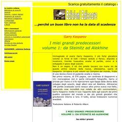 Edizioni Ediscere - I miei grandi predecessori volume 1