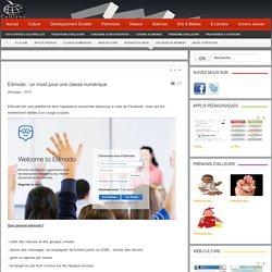 Edmodo : un must pour une classe numérique