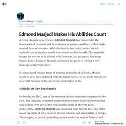 Edmond Masjedi Makes His Abilities Count