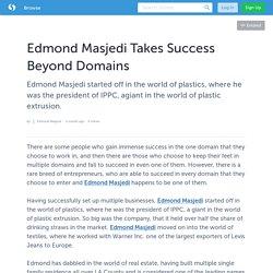 Edmond Masjedi Takes Success Beyond Domains