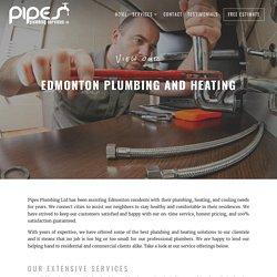 Top Quality Plumbing Services in Edmonton