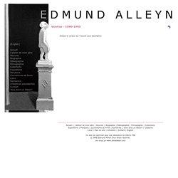 Edmund Alleyn - P e i n t u r e s