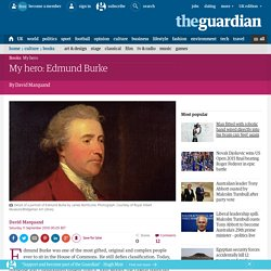 My hero: Edmund Burke