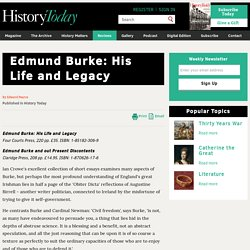 Edmund Burke: His Life and Legacy