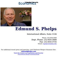 Edmund Phelps Home Page