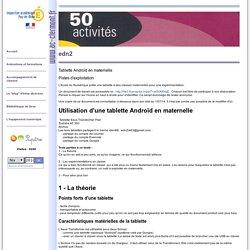 50 idées d'activités