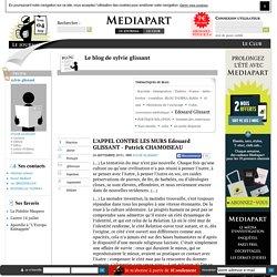 L'APPEL CONTRE LES MURS Edouard GLISSANT - Patrick CHAMOISEAU