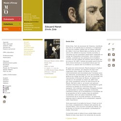 Edouard Manet Emile Zola