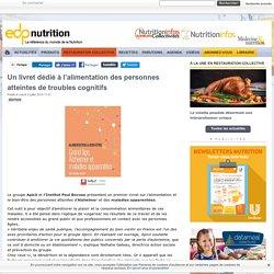 Un livret dédié à l'alimentation des personnes atteintes de troubles cognitifs
