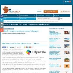 EDPuzzle : morpher tout vidéo en ressource pédagogique