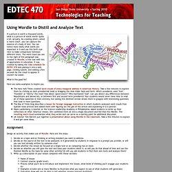 EDTEC 470 - Wordle