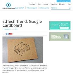 EdTech Trend: Google Cardboard