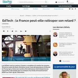 EdTech : la France peut-elle rattraper son retard ?