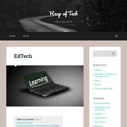 EdTech - Heap Of Tech