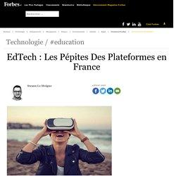 EdTech : Les Pépites Des Plateformes en France