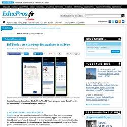 EdTech : 10 start-up françaises à suivre