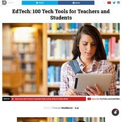 EdTech: 100 herramientas tecnológicas para Profesores y Estudiantes