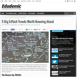 5 Big EdTech Trends Worth Knowing About