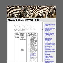 Edtech541 web page